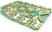 MORE IMAGES: BACK| NEXT SENIOR HOUSING VILLAGE Rendering