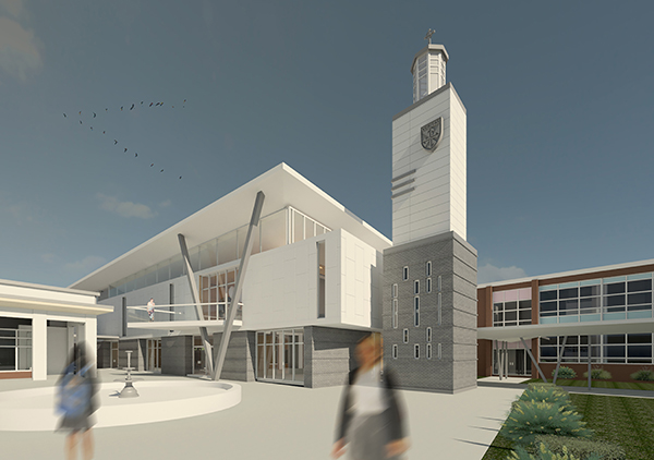 Blitch Knevel Architects, St. Mary's Dominican High School,